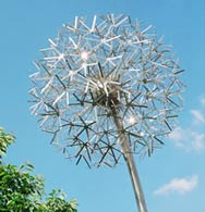 kinetic solar powered sculpture